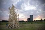 Tribal Tree (2008), Museum De Paviljoens, Almere, The Netherlands, 2008 (photo: Marjolijn Dijkman)