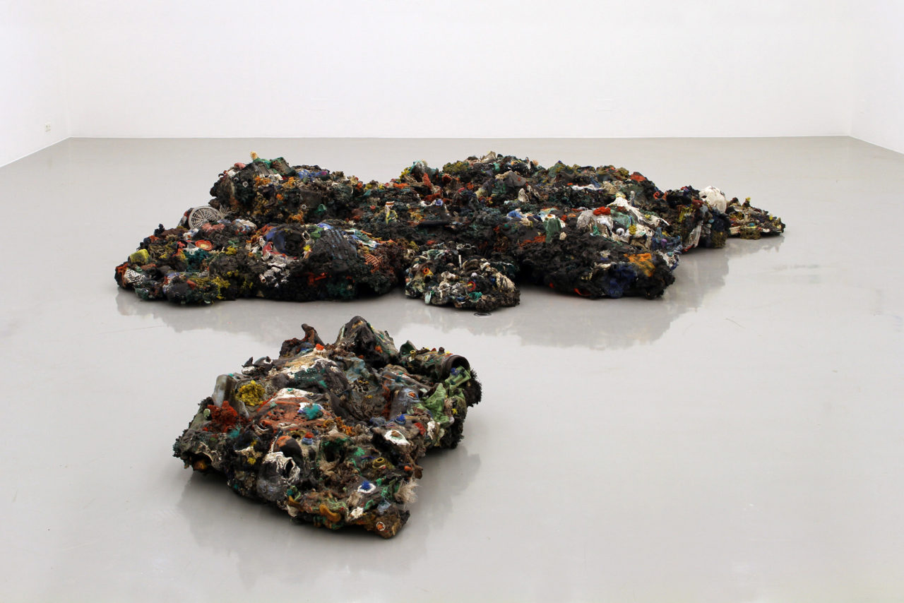 Plastic Reef (2008 - 2012), Frac Lorraine, Metz, France, 2014 (photo: Eric Chenal)