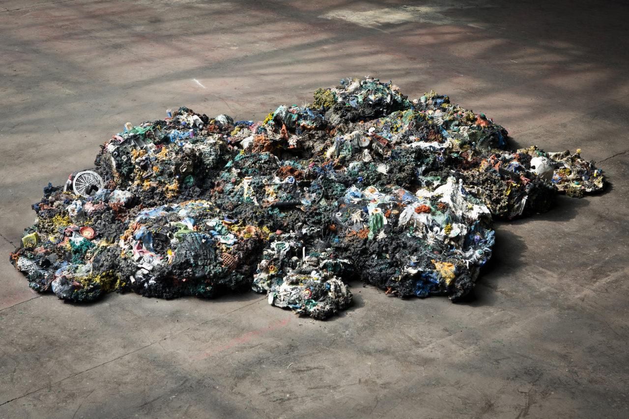 Plastic Reef (2008 - 2012), Manifesta9, Genk, Belgium, 2012 (photo: Kristof Vrancken)