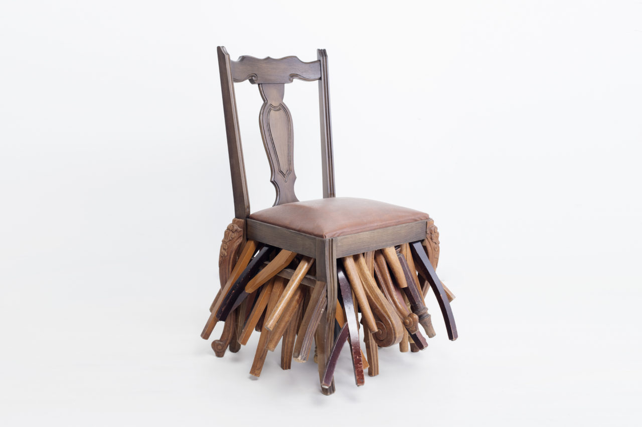 Boot Legs, The Chair as Artwork, The Galila's Collection Belgium, Latvian National Museum of Art, (c) Kristine Madjare