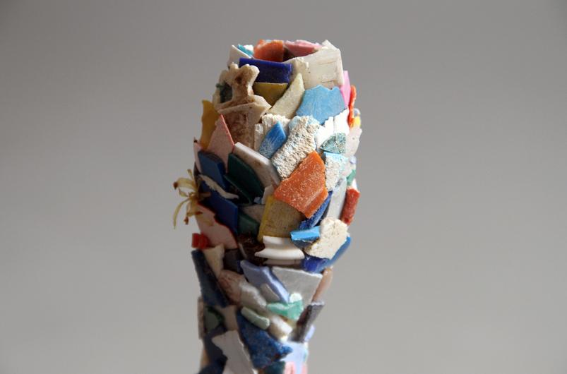 Maarten Vanden Eynde - Paleontologic Plastic IV-detail