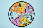 Wheel of Fortune, Meessen De Clercq, Brussels (photo: Philippe de Gobert)
