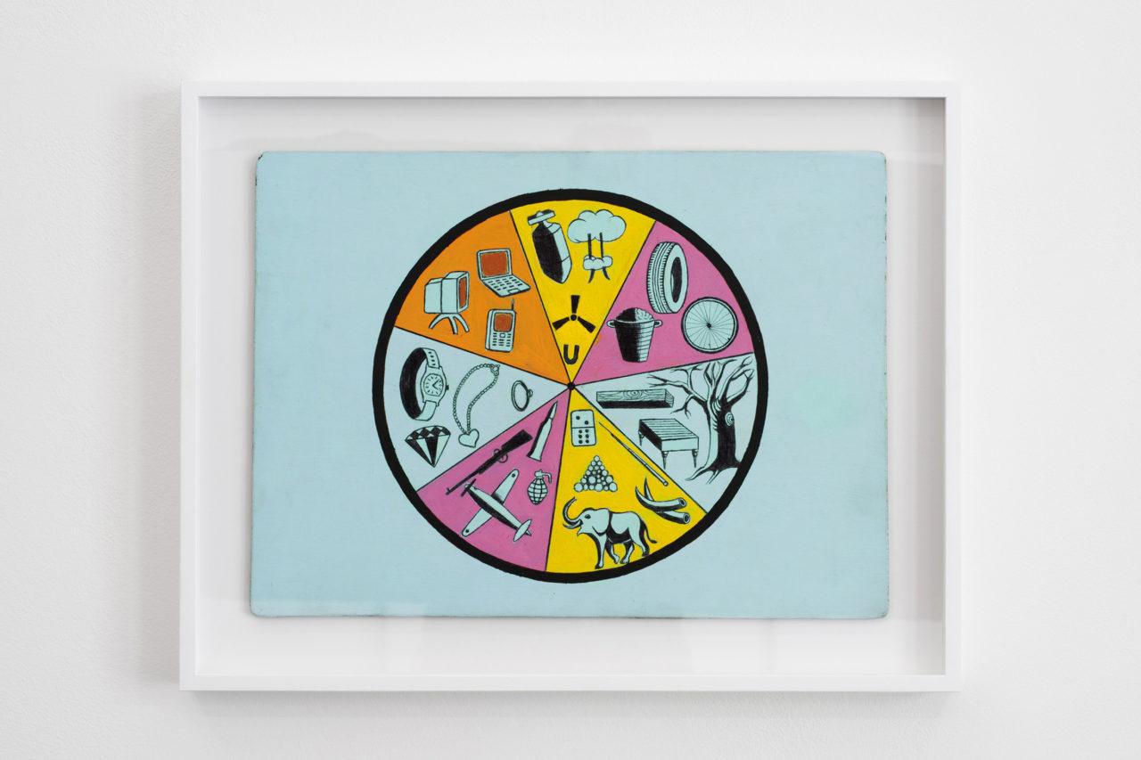 Wheel of Fortune (2015), Meessen De Clercq, Brussels, Belgium, 2016 (photo: Philippe de Gobert)