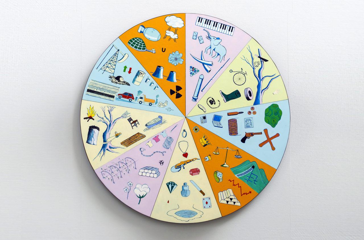 Ils ont partagé le monde [in collaboration with Musasa] (2017), Belgian Art Prize, Bozar, Brussels, Belgium, 2017 (photo: Philippe de Gobert)