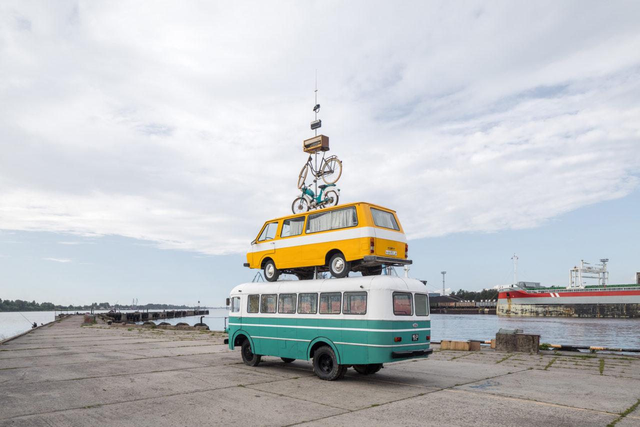 Pinpointing Progress, RIBOCA/Riga International Biennial for Contemporary Art, 2018 (photo: Ivan Erofeev)