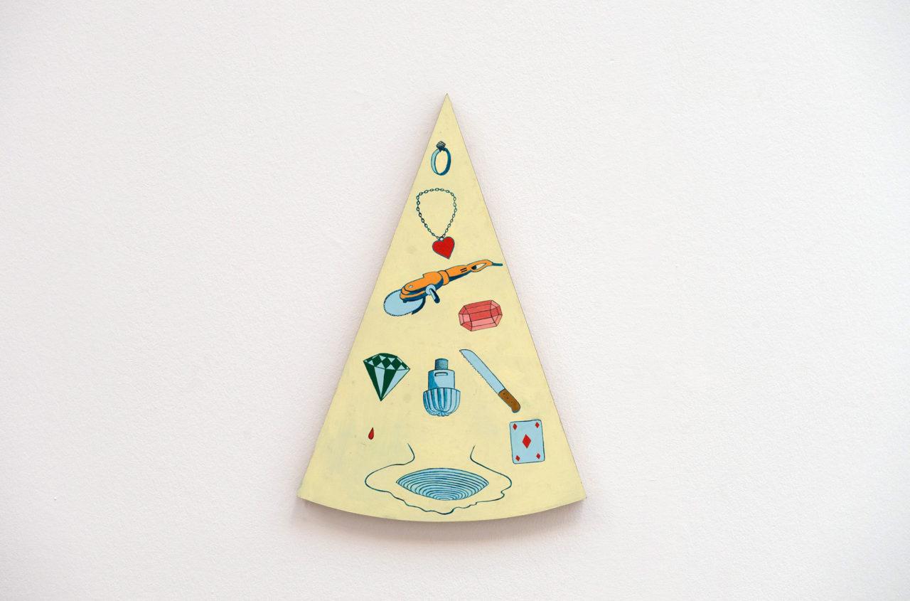 Diamond, detail of 'Ils ont partagé le monde' (in collaboration with Musasa), Belgian Art Prize 2017, Bozar, Brussels, Belgium